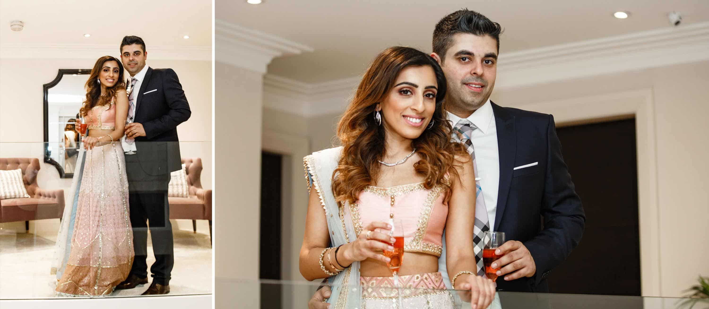 Roka Ceremony Couples Photographer