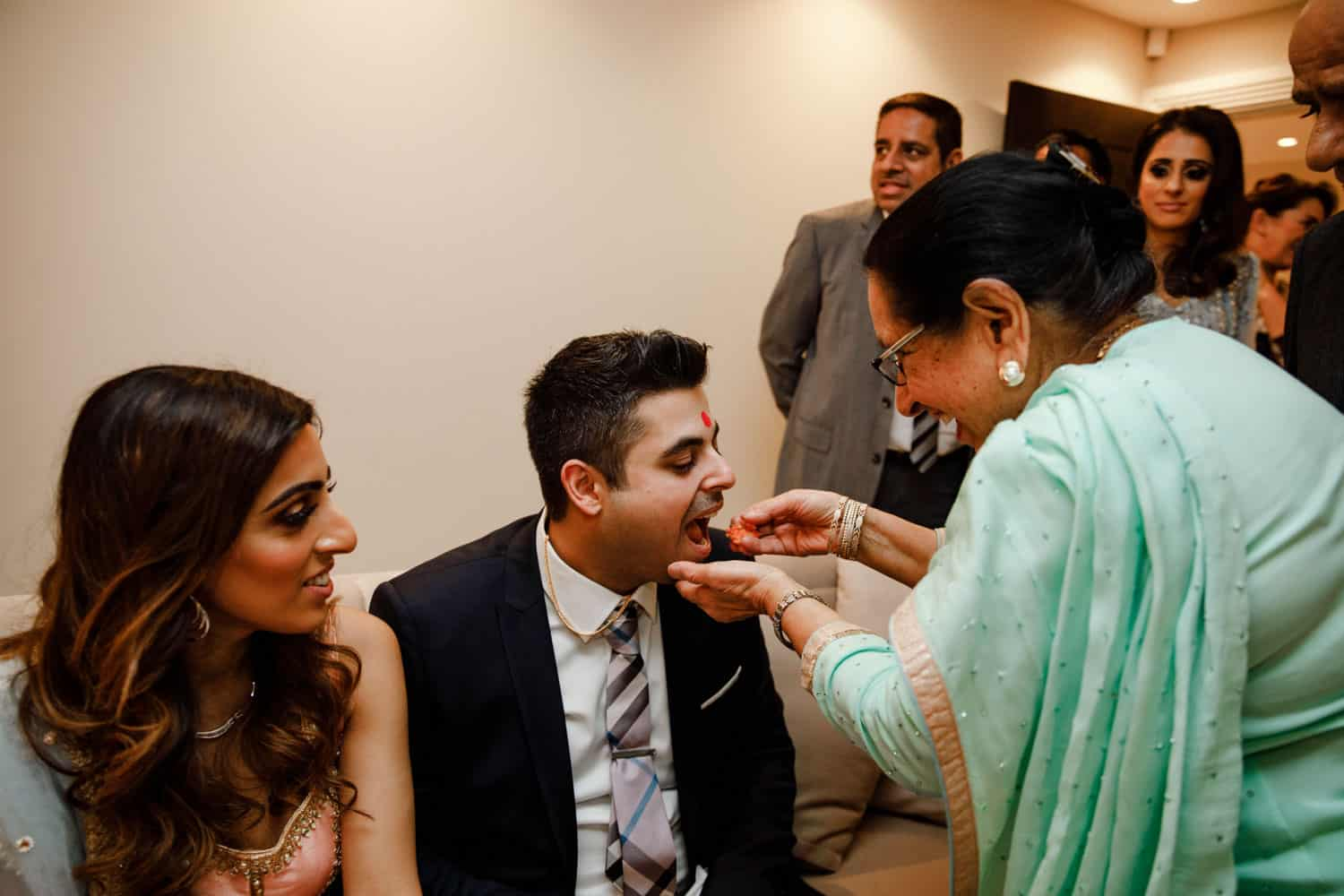 Roka Ceremony Photographer Manchester