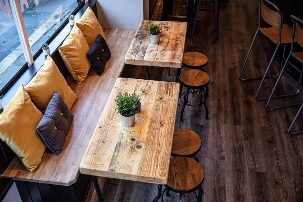 Bespoke Handmade Wood Bar Furniture
