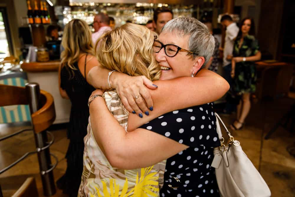 hugs at your 60th birthday party