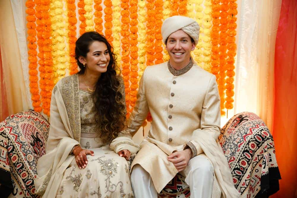 mehndi celebration bride and groom manchester