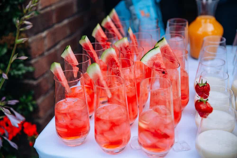 mehndi celebration watermelon drinks